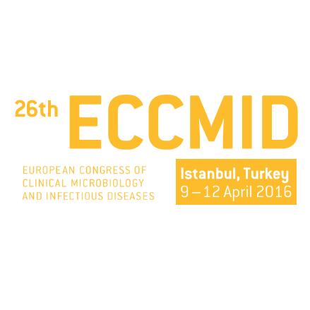 ECCMID 2016 event logo